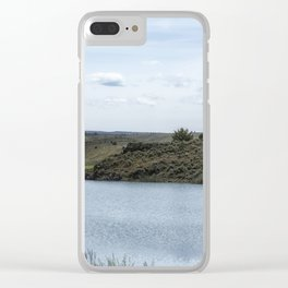 Krumbo Reservoir Clear iPhone Case