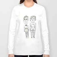 subway Long Sleeve T-shirts featuring Subway Friends by TheFrizzKid