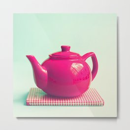 Tea Afternoons  Metal Print