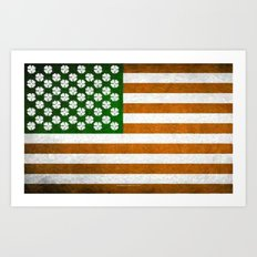 Irish American 015 Art Print
