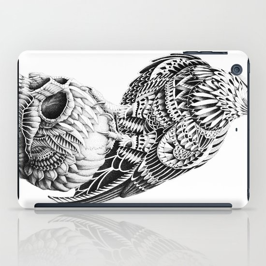 Red-Tail Skull iPad Case