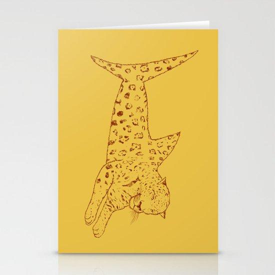 Jaguar Shark Stationery Cards