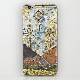 Compass Rose Garden iPhone Skin