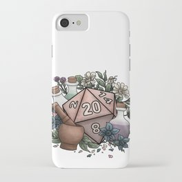 Alchemist D20 Tabletop RPG Gaming Dice iPhone Case