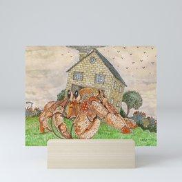 Hermit Apocalypse Mini Art Print