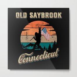 Old Saybrook Connecticut Metal Print