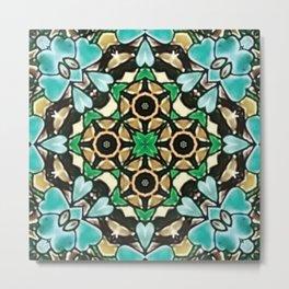 Star Clover | Abstract Design Metal Print