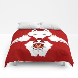 Mononoke and the wolves Comforters