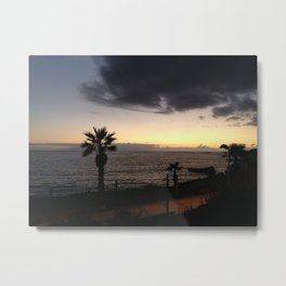Storm in the Azores Metal Print