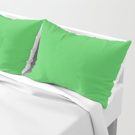 Solid Bright Kelly Green Color by podartist