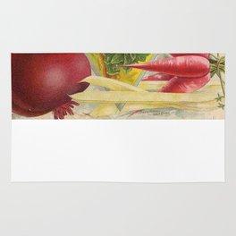 Vintage poster - Seven Grand Vegetables Rug