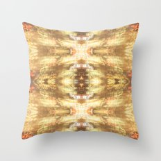 Warm City Lights Throw Pillow