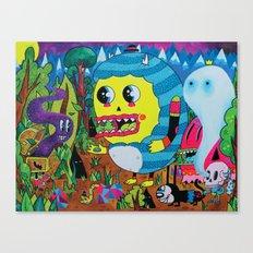 The Treasure Hunters Canvas Print