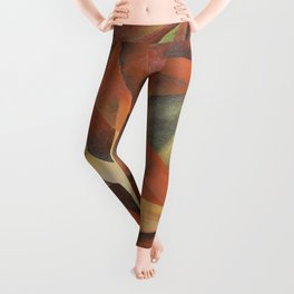 Foxes - Homage to Franz Marc (1913) Leggings