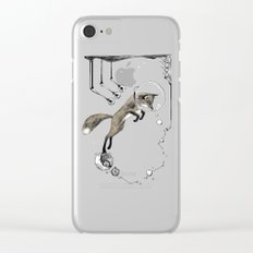 Relativity Fox Trot Clear iPhone Case
