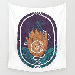 Pulsatilla Patens Wall Tapestry