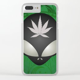 Here for the Herb Clear iPhone Case