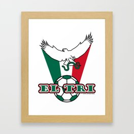 Mexico El Tri ~Group F~ Framed Art Print