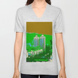 Mountain Condo Unisex V-Neck