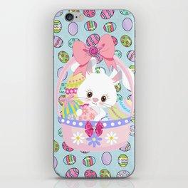 Easter Bunny Easter Basket iPhone Skin