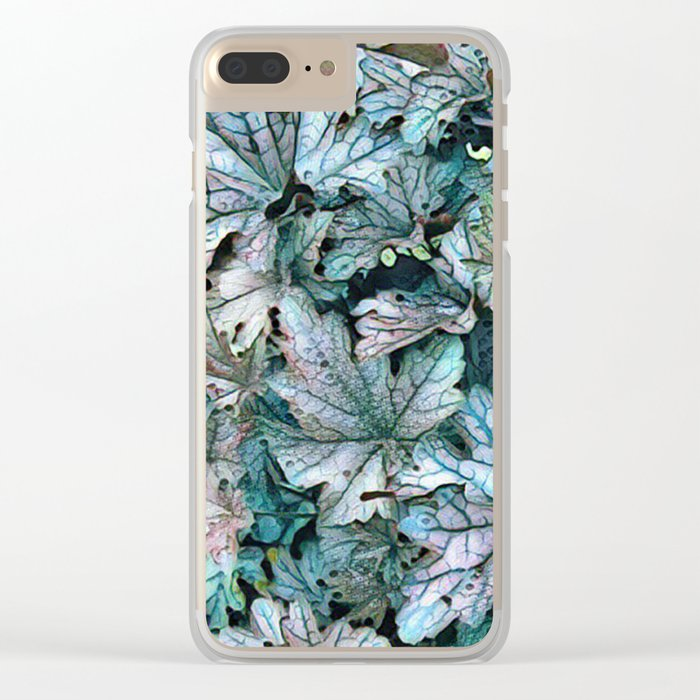 Growing Free Clear iPhone Case