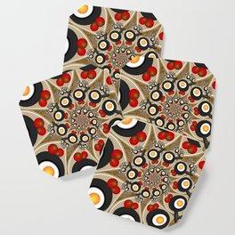 Brunch, Fractal Art Fantasy Coaster