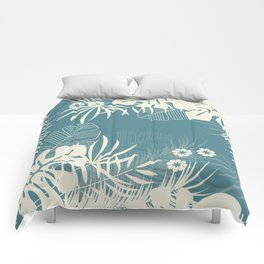Tropical pattern 047 Comforters