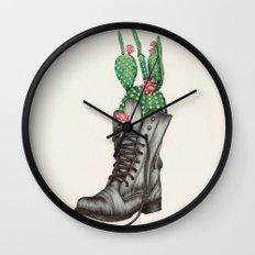 Shoe Bouquet II Wall Clock