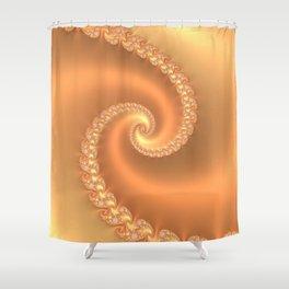 Butterscotch Shower Curtain