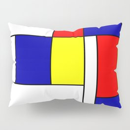 Mondrian #38 Pillow Sham