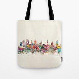 leeds united kingdom Tote Bag