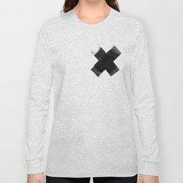The Black X  Long Sleeve T-shirt