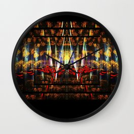 Fire Thoughts Wall Clock