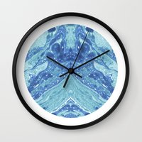frank Wall Clocks featuring Frank by Emelie Sandahl