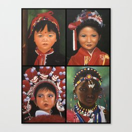 Children Of The World  Canvas Print