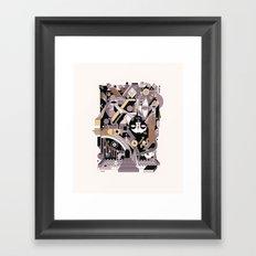 gotama Framed Art Print