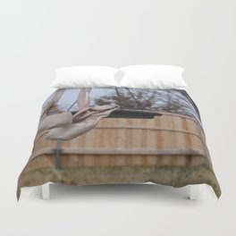 Snowy Pointe Duvet Cover