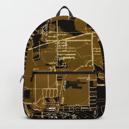 Fort Lauderdale old map year 1949, united states old maps Backpack