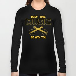 Banjo Player May The Music Be With You Long Sleeve T-shirt