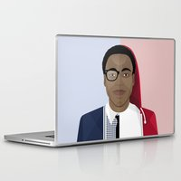childish gambino Laptop & iPad Skins featuring Donald Glover x Childish Gambino by Mathieu Duparcq