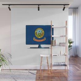 Idaho Flag TV Wall Mural