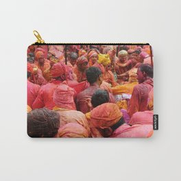 Holi, Mathura, India Carry-All Pouch