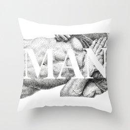 MAN - NOODDOODs  Throw Pillow