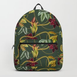 Floral chains Backpack