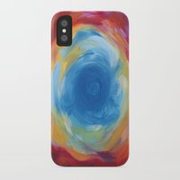 portal iPhone & iPod Cases featuring Portal by ChrisKai