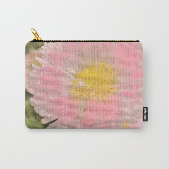The Singular Beauty Of A Daisy Carry-All Pouch