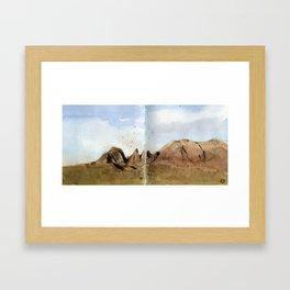 Big Bent National Park  Framed Art Print