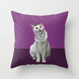 Khloe Katdashian Throw Pillow