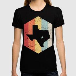 Retro Vintage Texas Icon - Austin Capital T-shirt