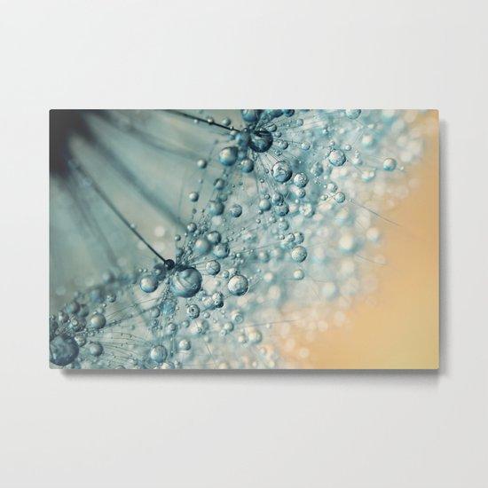 Sand & Sea-foam Dandy Metal Print